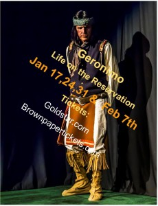 Geronimo photo with dates and ticket
