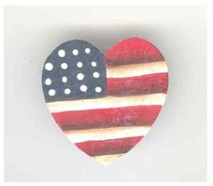 flag pin for 9-11